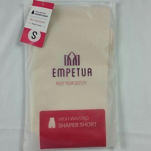 Empetua high waist shaper shorts, nude, S NWT